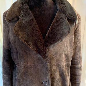 Wilson's Brown Suede coat!